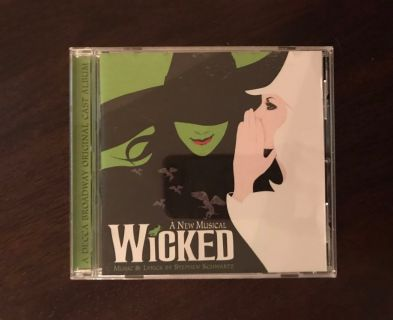 Wicked Broadway Musical Soundtrack