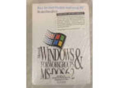 Norwegian Microsoft Windows for Workgroups 3.11 & MS-DOS