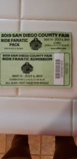 4 SD Fair tickets