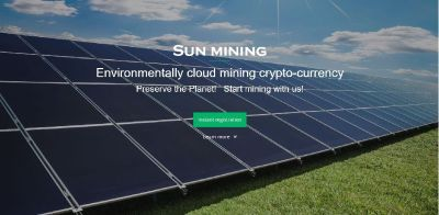 Mine Bitcoin with Solar Power