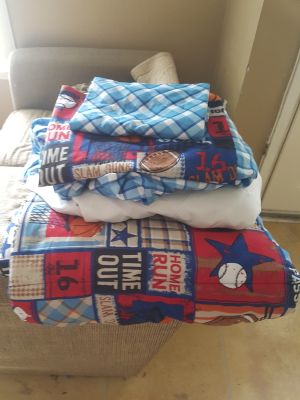 Boys Twin Bed Sheet Set