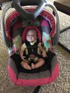 Baby Trend full size custom car seat for doll