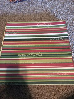 206 Misc Christmas and Winter Scrapbook paper