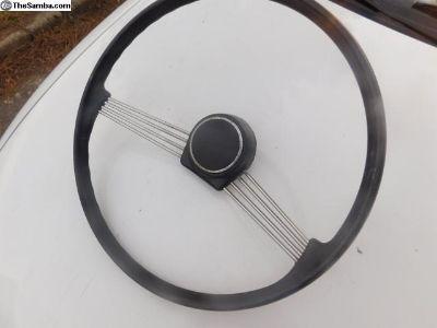 Petri 2 Spoke Banjo Steering wheel. $1.00 no reser