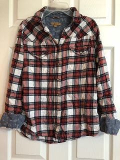 Flannel shirt- small