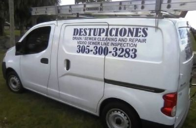WESTON  DESTUPICIONES, DRAIN CLEANING  786 334 2631