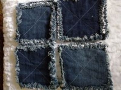 Set of 4 Rag Coasters