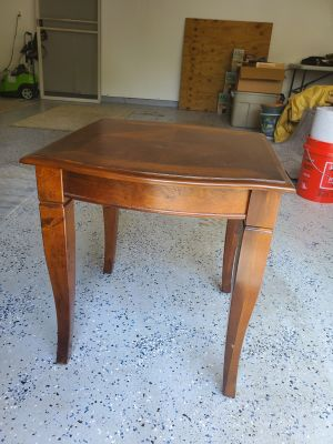 Cherry Wood End Tables (2)