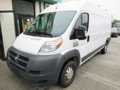 "2017 RAM ProMaster Cargo Van 2500 High Roof 159"" WB (White)"