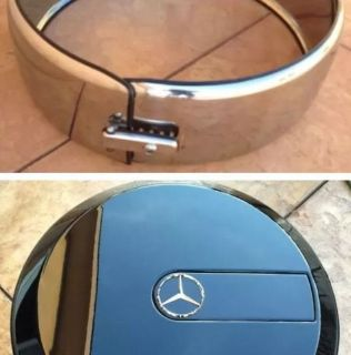 Sell Mercedes Benz G-Class W463 G500 G550 G55 G63 Spare Tire Chrome Ring+Cover Cap motorcycle in Burbank, California, United States, for US $2,299.99