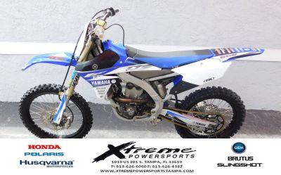 2017 Yamaha YZ250F Sport Motorcycles Tampa, FL