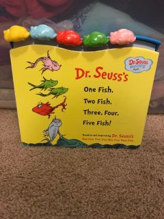Dr Seuss brand new baby counting book $2