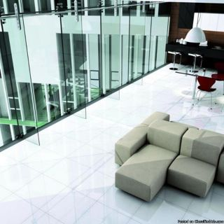Micro Crystal Glass White 12 X 24 24 X 24 24 X 48 Rectified, Waterproof, Green Product, Indoor, Out Door