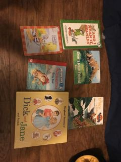 Lot of different age group books