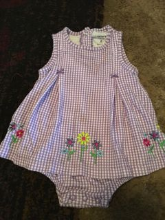 Carters 6m purple/wht romper - ppu (near old chemstrand & 29) or PU @ the Marcus Pointe Thrift Store (on W st)