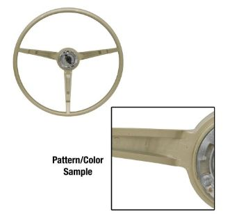 Purchase 1967 Ford Mustang Steering Wheel Standard Ivy Gold motorcycle in Lawrenceville, Georgia, United States, for US $149.95