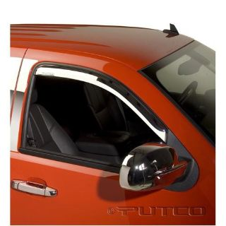 Find 480034 Putco Chrome Element Vent Visors Silverado Sierra Regular Cab 2007-2013 motorcycle in OR, CA, KS, GA, or PA, US, for US $70.99