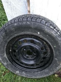 One tire with rim 14 new