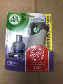 Air wick with warmer