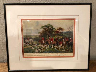Sir Richard Hutton & the Quorn Hounds
