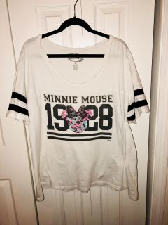 Torrid Minnie Mouse Jersey Size 3