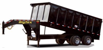 2019 BIG TEX TRAILERS 25DU-20 Gooseneck Dump