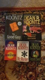 7 Dean Koontz Novel Collection