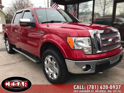 2011 Ford F-150 XLT (Race Red)