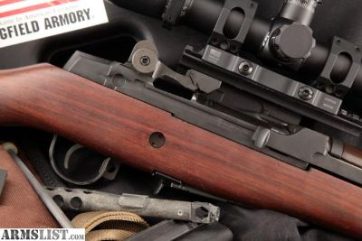 """For Sale: Springfield Armory M1a Loaded Stainless, 22"""" Semi-Automatic Rifle"""
