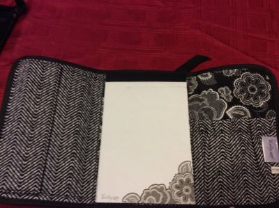 Thirty One fold and go organizer with notepad