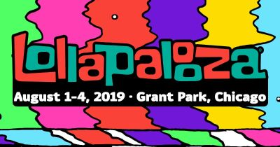Lalapalooza 4- day passes