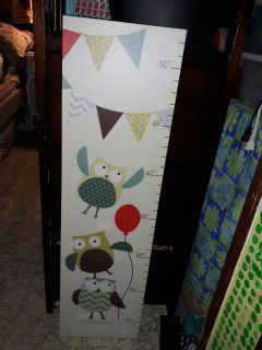 Beautiful brand new with tags towel height chart. Never hung never used. Great gift
