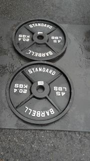 Olympic Plates-45lbs