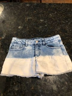 Total girl ombr jean shorts. Excellent condition. SF. Size 12. $3