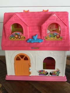 FISHER PRICE LITTLE PEOPLE PLAY DOLL HOUSE