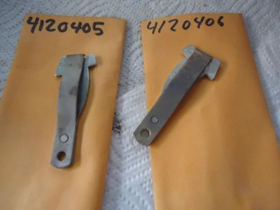 Purchase Fiat 600D 850 COUPE 850 SEDAN DOOR CHECK STRAP SET NOS VERY RARE SET 4120405 6 motorcycle in Birmingham, Alabama, US, for US $34.99