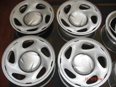 Find TOYOTA TRUCK SUV 6 LUG 16X7 FACTORY OEM WHEELS RIMS motorcycle in Glendora, California, US, for US $199.99