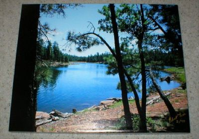 "Original Photo on Canvas - Northern AZ - Signed & Numbered - 16"" x 20"""