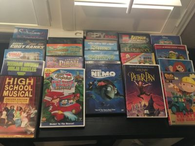 Kids DVD movies