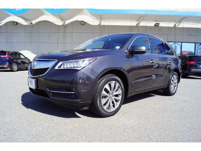2014 Acura MDX Base w/Tech (Graphite Luster Metallic)