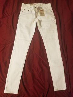 Levis girls white jeans size 16