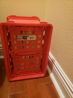 Steralite plastic stackable storage