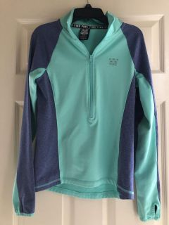 Pink brand zippered pull over, excellent condition