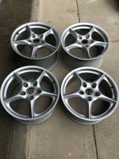 """FS: 18x8 18x10 """"MY02"""" bbs wheels."""