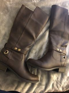 Brand New Brown Boots