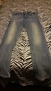 Skinny jeans I think H&M size 29 (7/ $4.00