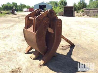 "LaBounty 48"" Excavator Grapple-Fits Cat 330"