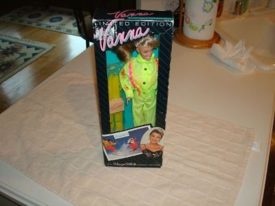 "Limited Edition Authentic 12"" Vanna White Doll Original Fashions Aspen"