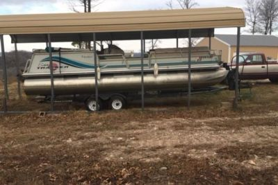 1997 Sun Tracker Party Barge 25