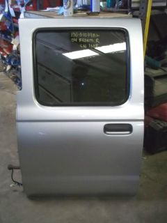 Sell 03 04 Nissan Frontier Crew Cab 4dr Pickup Truck Left Driver REAR BACK Power Door motorcycle in Tucson, Arizona, US, for US $385.00
